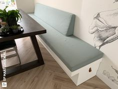 Banquette Seating In Kitchen, Kitchen Sofa, Dining Room Bench, Dining Nook, Home Room Design, Dining Room Design, Home Interior Design, Teen Room Decor, Living Room Decor
