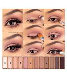 NAKED 3 - make up tutorial