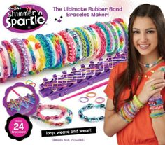 2 Cra Z Loom bracelet kits they make a great gift ideas for the holidays. $45.99