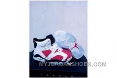 2d281fd6d6dfd1 Nike Air Jordan 6 Retro Off White New Maroon Men S Size 12 Kids 2SBy4