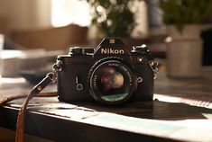 Nikon EM 35mm camera A completely underrated camera.  As was its sister the FG.