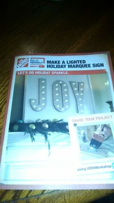 "JOY marquee sign Christmas 24"" x 30"""