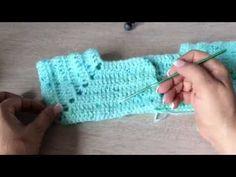 Abriguito minicolors tejido en gancho fácil y rápido - tejiendo con Laura Cepeda - YouTube