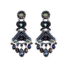 Midnight Voodoo Mercury Earrings Ayala Bar Classic Collection 2016-17
