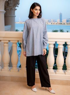 Exclusive online selection of women's modest wear including abayas, kaftans, travel wear, dresses and maternity outfits that spell elegance. Simple Pakistani Dresses, Pakistani Fashion Casual, Pakistani Dress Design, Pakistani Outfits, Simple Kurta Designs, Stylish Dress Designs, Stylish Dresses, Girl Fashion Style, Girls Fashion Clothes
