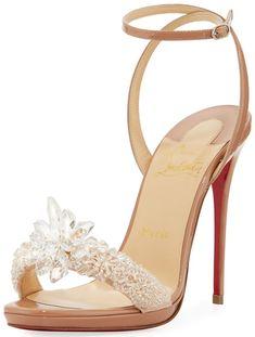 72db768070de Christian Louboutin Wedding Shoes  Top 10 Red Bottom Bridal Heels for 2018