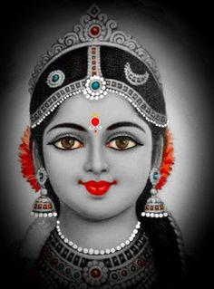 Durga Picture, Maa Durga Photo, Kali Goddess, Mother Goddess, Shiva Art, Shiva Shakti, Durga Ji, Krishna Statue, Lord Shiva Family