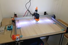 Here are all the parts we designed for our upgrade of the Shapeoko CNC at Amiens's FabLabhttp://etoele.com/More informations and pictures onhttp://etoele.com/enlarge-your-shapeoko/(In french)