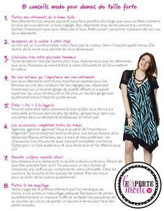 8 conseils mode pour dames de taille forte