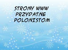 Linki do stron WWW. Dla polonistów i nie tylko.