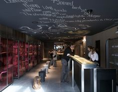 Mama Shelter, very cool, funky hotel designed by Philippe Starck - near Pere Lachaise Cemetery in Paris