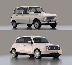 Old & New #Renault 4