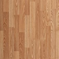 7mm Natural Oak Smooth Wood Plank Laminate Flooring
