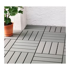 RUNNEN Decking IKEA Floor decking makes it easy to refresh your terrace or balcony. I love Ikea!!!