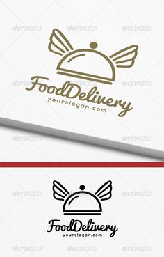 Food Delivery Logo  #GraphicRiver
