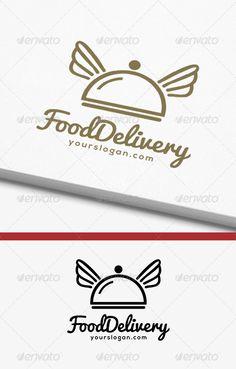Food Delivery Logo  #GraphicRiver