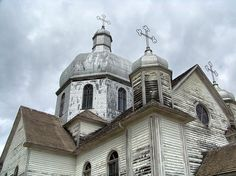 Beautiful Ukrainian churches in the area I grew up in Canada