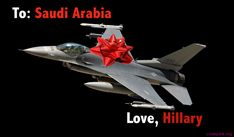 While Saudi Arabia and Boeing poured cash into the Clinton Foundation, Hillary Clinton's State Department approved enormous sales of Boeing fighter jets to the kingdom.