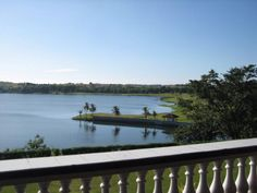 view of paoay lake from the balcony of malacanang of the north