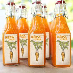 TeaRoom: Húsvéti letölthető ajándékok! Healthy Juice Recipes, Healthy Juices, Summer Drink Recipes, Summer Drinks, Rabbit Stew, Fruit Logo, Juice Branding, Hermes Orange, Beverage Packaging