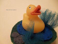 Rubber duck brooch!