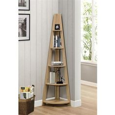 Nordic Corner Bookcase