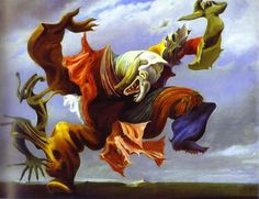 German artist Max Ernst's alter-ego wasn't a gender variant or tormented doppelgänger. It was a familiar, a Freudian metaphor, a… bird. Ernst was fascinated with the feathered kind and the significance of their flight, the symbolic, total freedom of it. Birds were a motif throughout his paintings since the '30s. Well, one specific bird with the most awesome name — Loplop. It even sounds cheery and unburdened, doesn't it?
