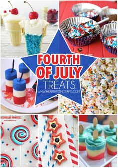 Fourth Of July Treats For Kids!