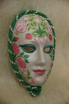 """""""Venetian Mask"""" - hand painted, made of plaster of paris."""