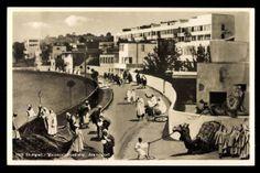 Postcard Stuttgart, Weissenhofsiedlung, Araberdorf