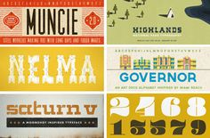 Another fantastic font resource for graphic designers!  Thank you AGAIN @howaboutorange !