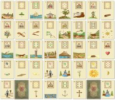 DesertRoseTarot — Old School Lenormand