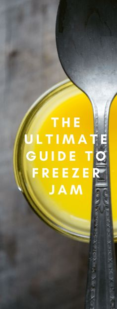 THE ULTIMATE GUIDE TO FREEZER JAM ~ everything you need to create gorgeous, healthy, vibrant jams, jellies, marmalades and curds for every season of the year ~ no canning equipment needed! Freezer Jam Recipes, Jelly Recipes, Freezer Cooking, Canning Recipes, Freezer Meals, Guava Recipes, Lemon Jam, Guava Jam, Canning Food Preservation