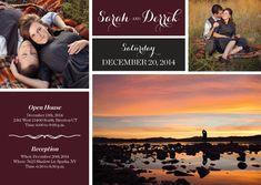 Sarah & Derrek   Utah Announcements
