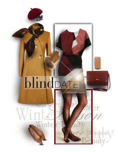 """Blind Date - Winter Style"" by karlajkitty ❤ liked on Polyvore featuring Fendi, Trilogy, STELLA McCARTNEY, Incipio, FRR, Trio Eyewear, women's clothing, women, female and woman"