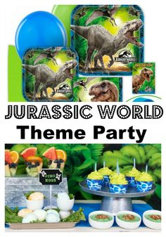 Run for your life! Jurassic World hits theaters June 12!  Celebrate with a Jurassic World Theme Party.