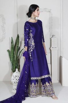 Diana in 2019 Shadi Dresses, Pakistani Formal Dresses, Pakistani Dress Design, Pakistani Designers, Pakistani Outfits, Indian Dresses, Indian Outfits, Pakistani Gowns, Emo Outfits