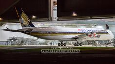 3rd Airbus A350 Singapore Airlines emerge from paint shop.