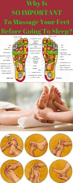 Why Is So Important To Massage Your Feet Before You Going To Sleep! – Healthy Food And Sport Tips
