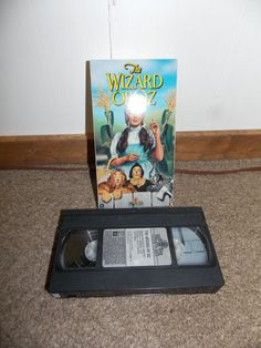 The Wizard of Oz VHS Movie Tape by PfantasticPfindsToo on Etsy