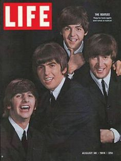 Beatles, 'Life' magazine, August 1964... I have this magazine, too.