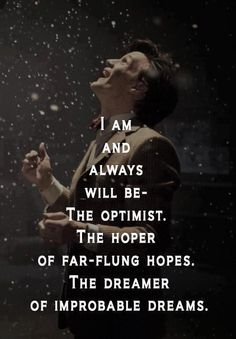 I think this quote describes all Doctor Who fans:)
