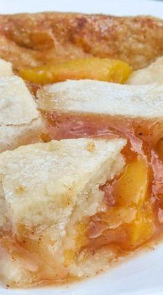 Homemade Peach Pie