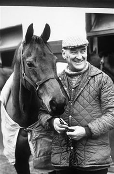 The immortal Red Rum, 3x winner of the Grand National, the world's most grueling race