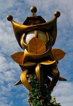 Typische Efteling lantaarn