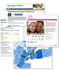 Inspire online health and wellness support communities