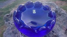 popielnica,  miseczka kobaltowa HSG Ząbkowice