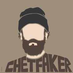 Chet Faker. Australian musician. Fan art Illustration