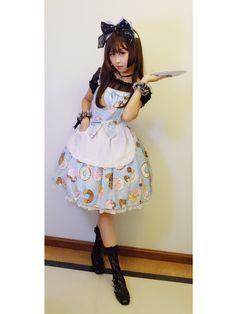 妞妞爱瑞丝的Lolita装扮  jsk:ap甜甜圈  ...