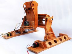 Wooden CNC that is portable and mountable to its cutting surface!